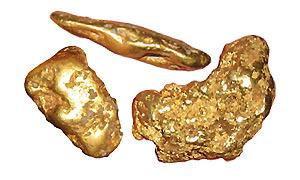 Buscar oro enterrado